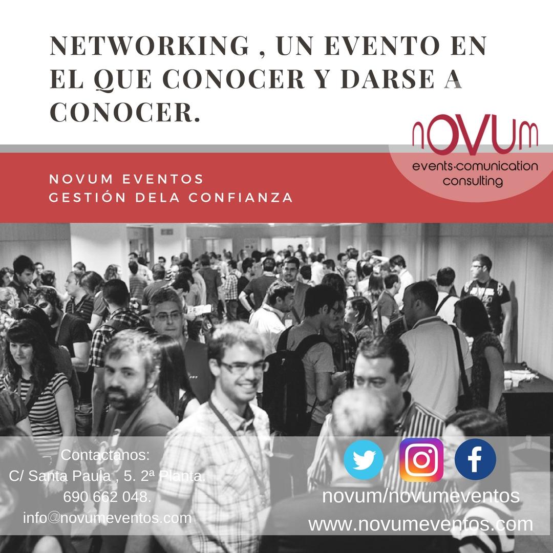 Networking, un evento en el que conocer y darse a conocer.