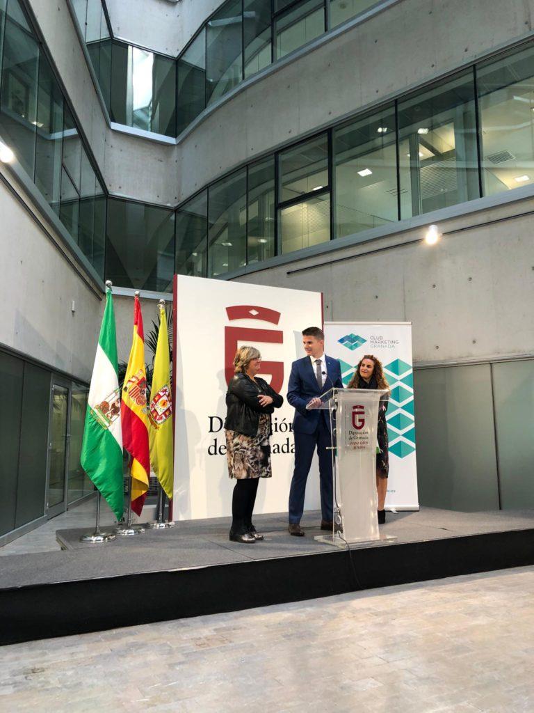 presentación en la Diputación de Granada