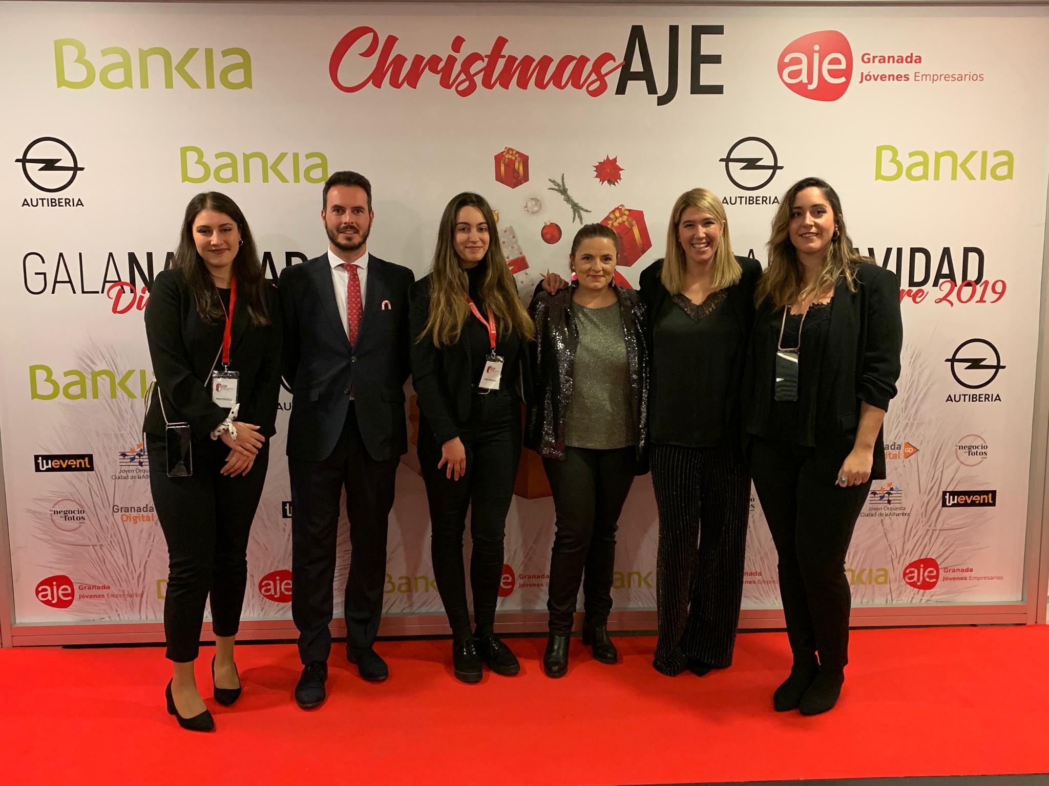 Asistimos a la Gala CHRISTMAS AJE 2019 BY BANKIA