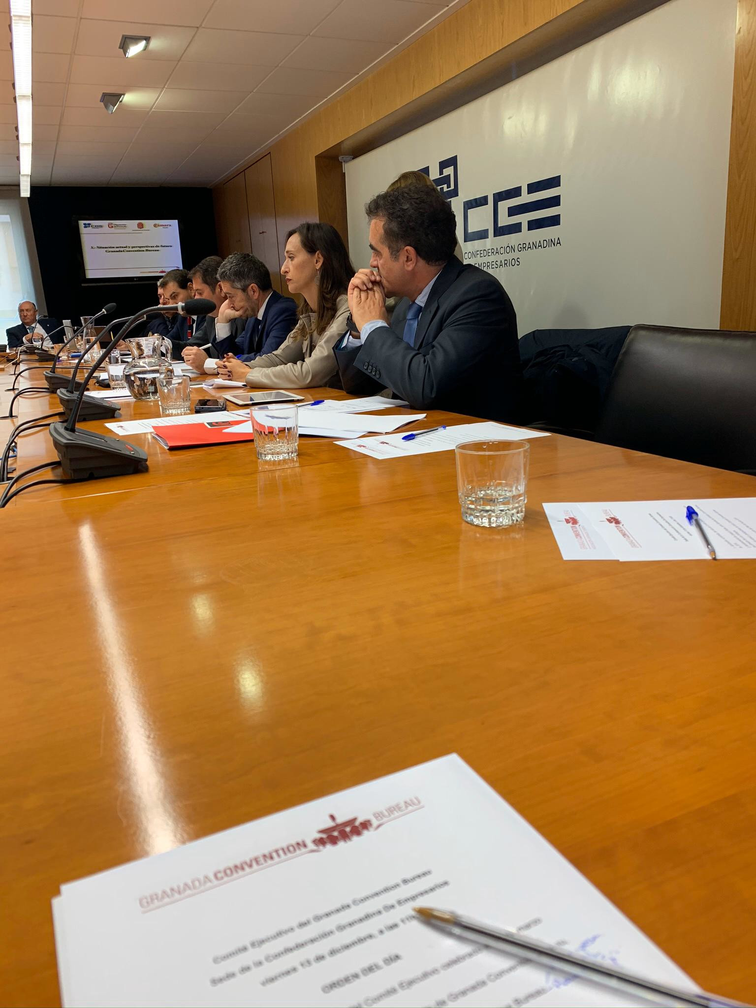 Comité Ejecutivo de Granada Bureau