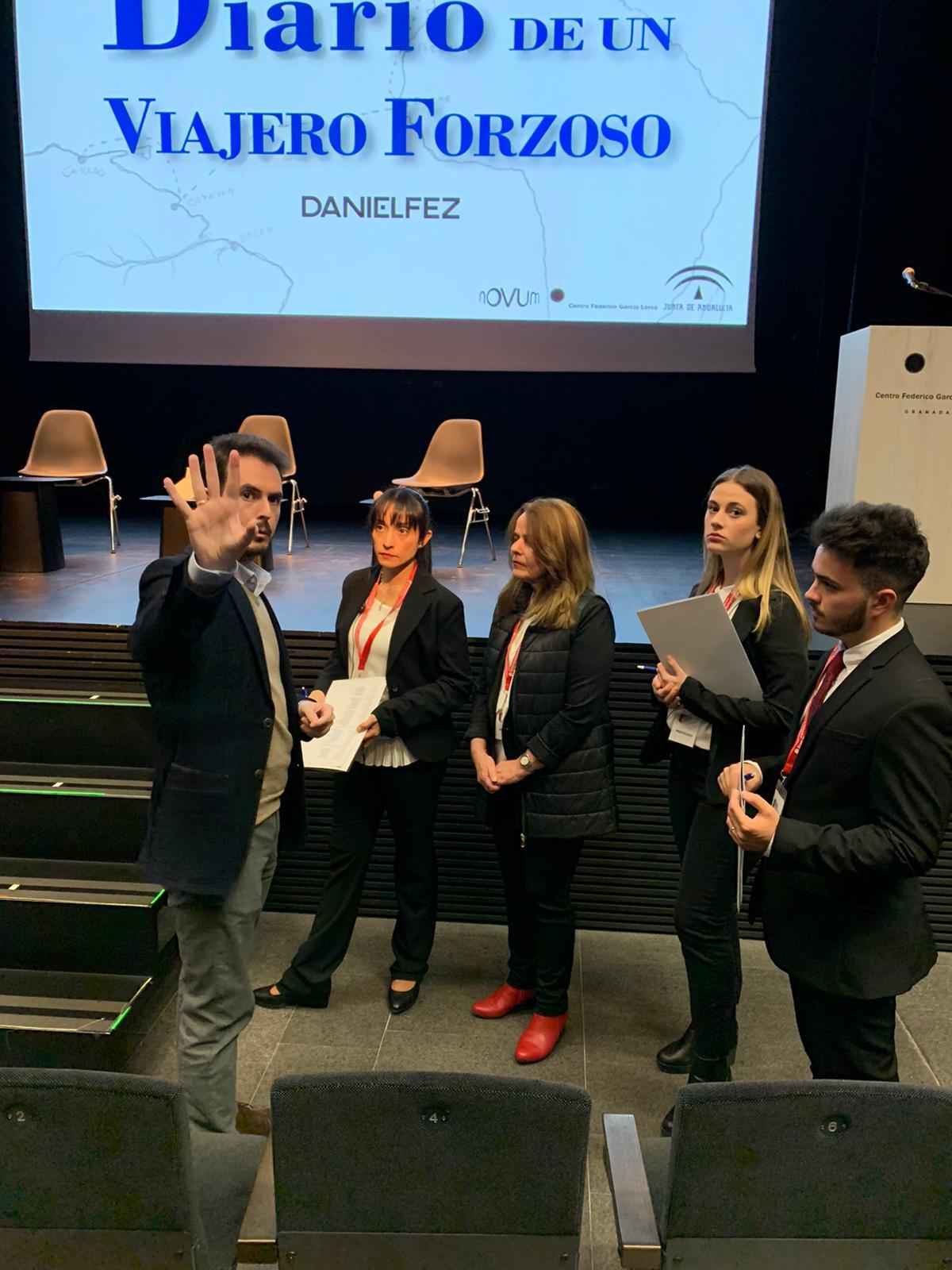 Evento de presentación del libro 'Diario de un Viajero Forzoso', de DanielFez